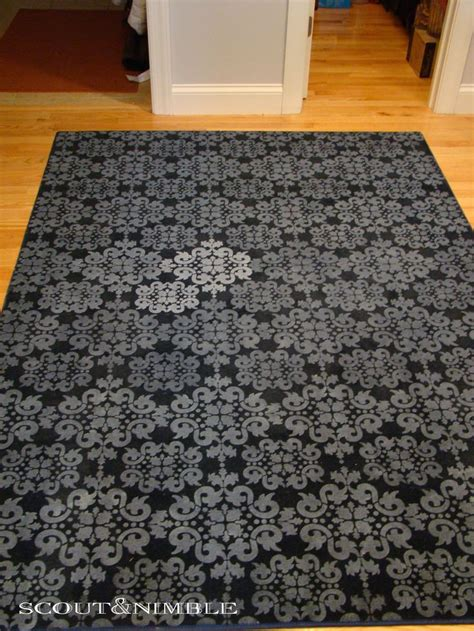 diy painted rug stencil best 25 stencil rug ideas on inexpensive rugs laundry room rugs and cheap outdoor rugs
