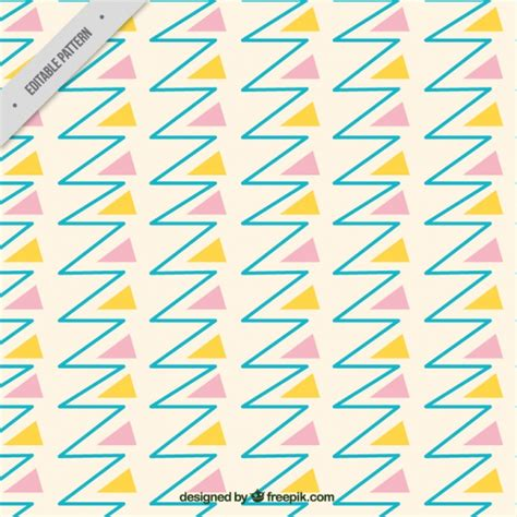 line pattern ai free pattern of lines and triangles vector free download