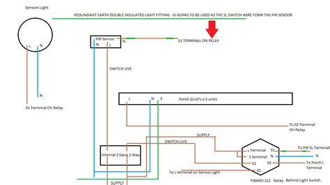 stand alone pir sensor wiring wiring diagram schemes