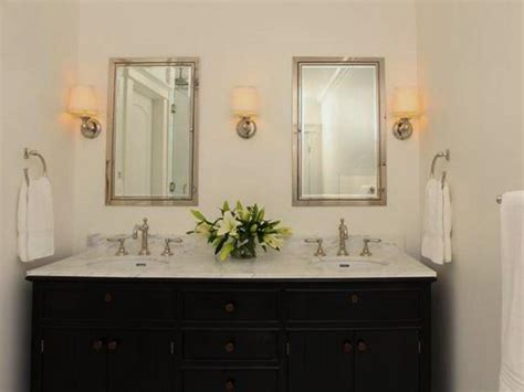 recessed bathroom cabinets recessed bathroom cabinets hgtv