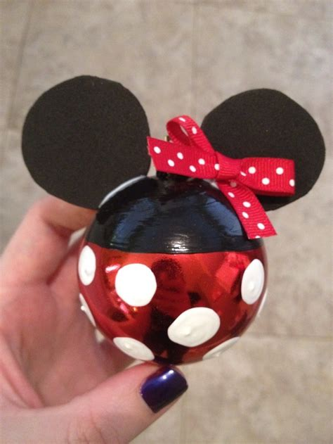 11 best photos of diy disney ornaments disney christmas