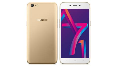 Oppo A71 3gb oppo a71 2018 with ai powered selfie experience launched in india price specifications