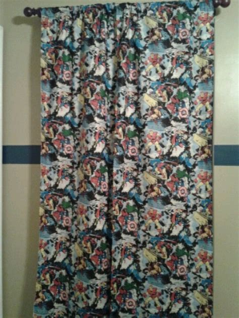 super hero curtains superhero curtains just hemmed the sides and made the