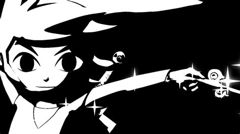 black and white zelda wallpaper toon link hd bw wallpaper by connorrentz on deviantart