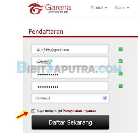buat baru pb garena indonesia cara daftar pb garena terbaru point blank indonesia