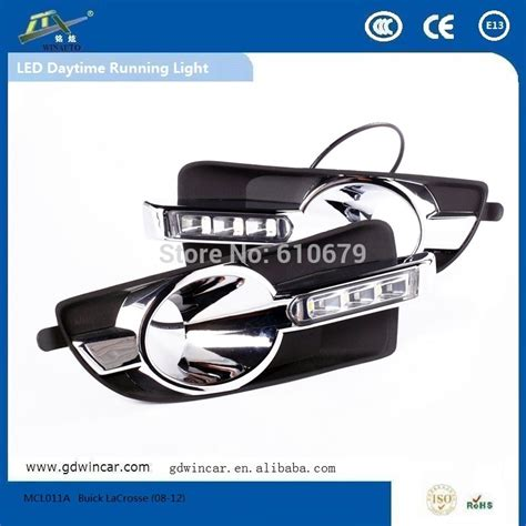 Led Drl 6ttk Water Proof water proof car light led drl for buick lacrosse 2008 2012 engine automobiles in daytime running