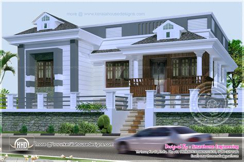 villa style house plans 3 bedroom kerala style single story budget villa indian house plans luxamcc