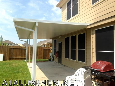 Patio Covers Baytown Tx Aluminum Patio Cover In Hoa In Baytown 187 A 1