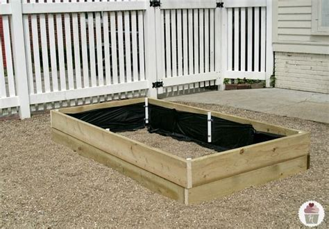 raised garden bed covers how to make a raised garden bed cover