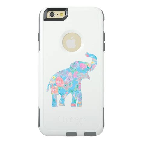 Floral Iphone 6 6s 7 8 X Plus floral elephant otterbox iphone 6 6s plus
