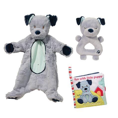 Puppy Set Blue blue puppy baby gift set douglas toys