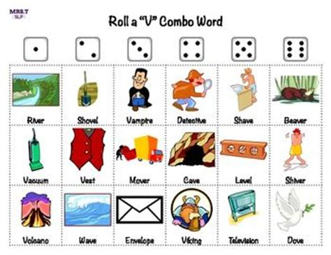 words with f and v for scrabble roll a dice for initial medial and combo quot v