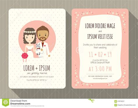 Wedding Invitation Card Groom by Wedding Invitation Card With Groom And