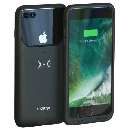 aircharge mfi qi iphone 7 plus wireless charging black