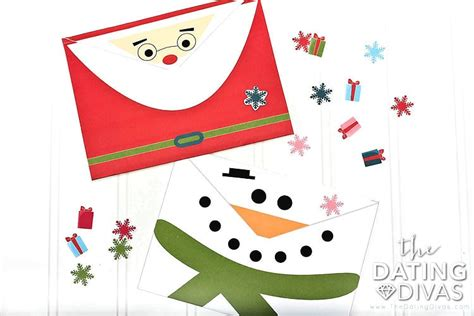 printable christmas cards and envelopes christmas card prep date the dating divas