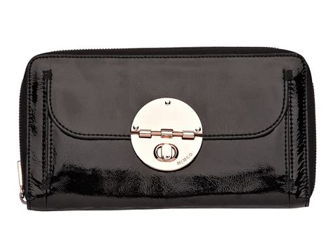 Mimco Quilted Travel Wallet by Mimco Turnlock Travel Wallet In Black Lyst