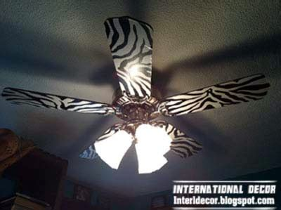 zebra print ceiling fan the best zebra print decor ideas for interior designs