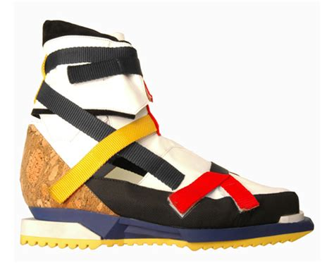 Raf Simons Lego Shoes by A Ap Rocky Performs Wearing Raf Simons De Stijl Hiking Boot Sneakers On The Late Show With