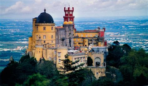 la portugal palacio da pena portugal the most amazing castles in