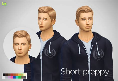 sims 4 cc hair for guys my sims 4 blog lumialover sims clean combed short pretty