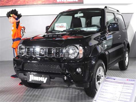 maruti suzuki uing suv car suzuki jimny facelifted model launched in china four