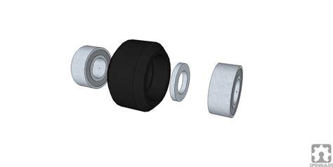Delrin V Wheel Kit By 3dp Store mini v wheel kit maker store
