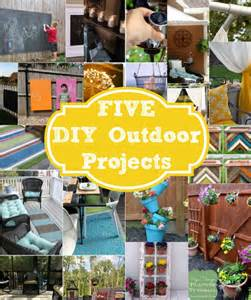 five do it yourself outdoor project ideas home stories a