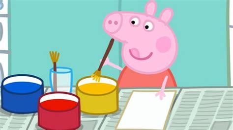 peppa pig painting free peppa pig painting season 2 episode 29