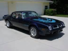 1975 Pontiac Firebird Trans Am 1975 Pontiac Trans Am 455ci 4spd American Style