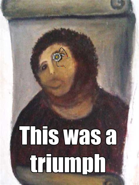 Ecce Homo Meme - image 384773 botched ecce homo painting know your meme