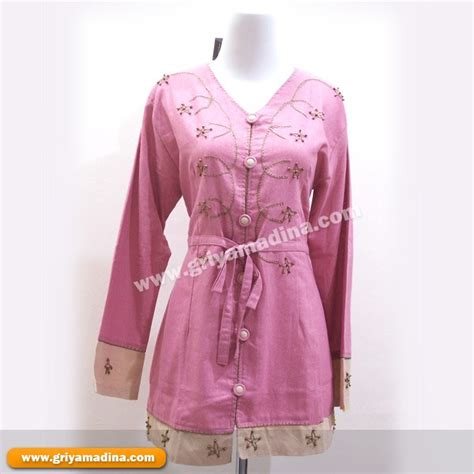 Kaos Atasan Malaysia Trend Terbaru baju wanita koleksi 4 madina griya busana muslim