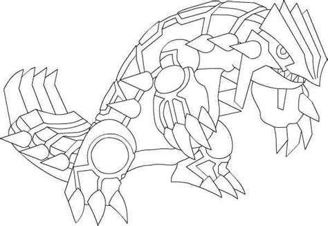 pokemon coloring pages groudon and kyogre pokemon xy primal groudon coloring pages