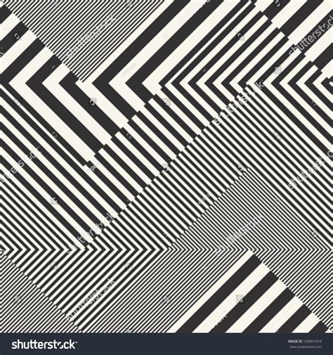 pattern vector stripes abstract striped textured geometric seamless pattern stock