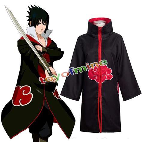Jaket Anime Harakiri Akatsuki Black anime costume akatsuki wind coat