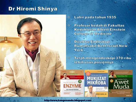 The Miracle Of Enzym Dr Hiromi Shinya Diskon puasa ala dr hiromi shinya kangen water masa depan