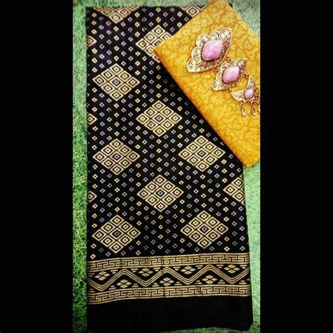 Kain Batik Encim Hitam kain batik pekalongan batik prada wajik kombinasi embos