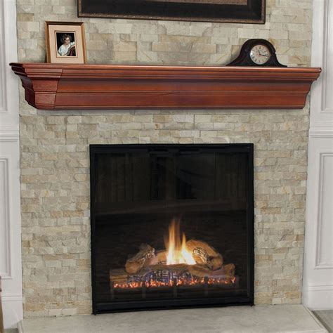 Fireplace Shelf Mantel by Pearl Mantels Lindon Traditional Fireplace Mantel Shelf