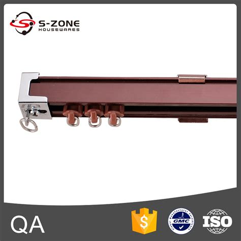 cer curtain track sliding metal curtain track slides gd16 buy metal