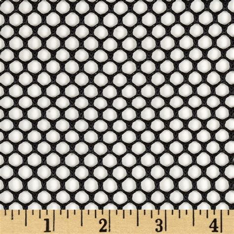 black pattern mesh fabric neptune air mesh black discount designer fabric fabric com