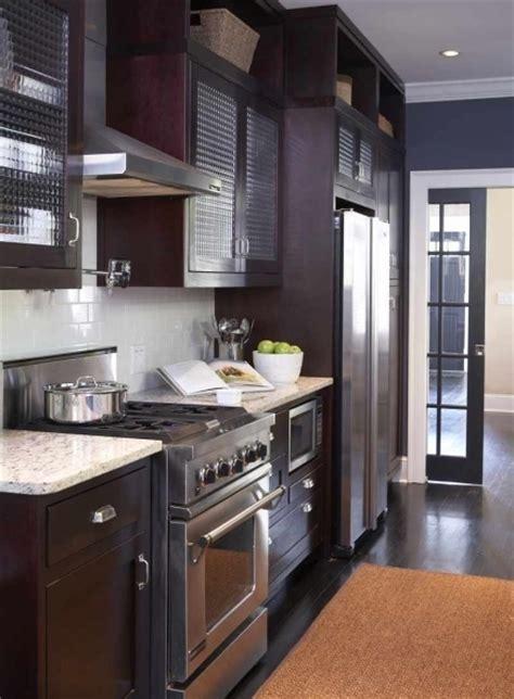 Blue Stained Kitchen Cabinets White Granite Countertops Contemporary Kitchen Terracotta Studio