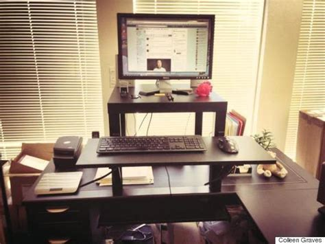 6 Desks That Will Make You Happier And More Productive At Ikea Stand Up Desk Hack