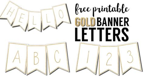 printable letter templates for banners free printable banner letters templates paper trail design