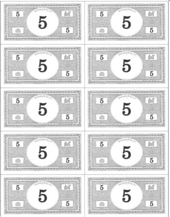 printable monopoly money template best photos of blank monopoly money blank play money