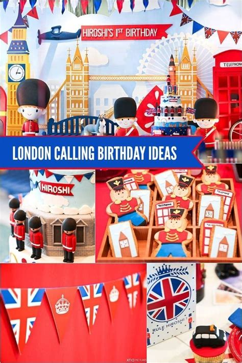 london themed events london themed boy s first birthday party birthdays
