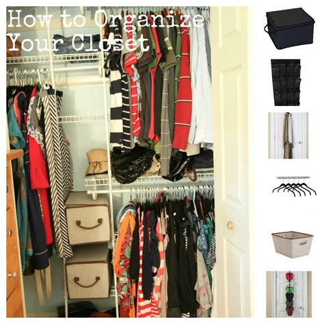 how to organize your closet tips tools for affordably organizing your closet momadvice