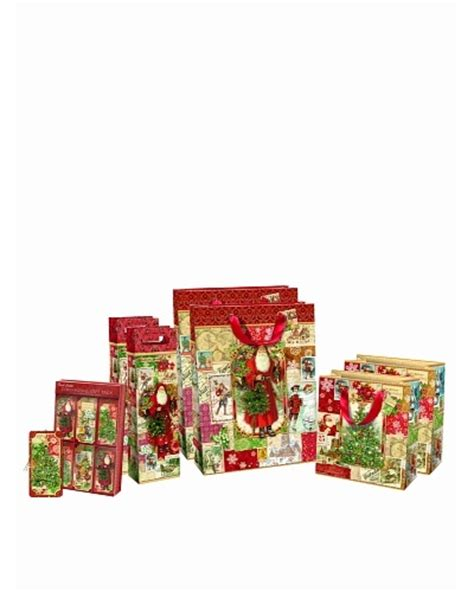 punch studio set of 8 continuous roll gift wrap