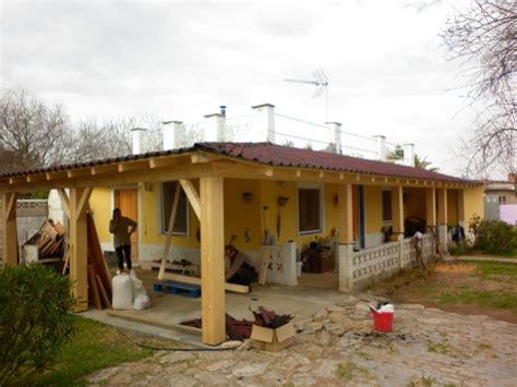 construir porche susoleto cosas de casa construir un porche de madera