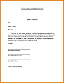 Guarantee Letter In 7 Guarantee Letter Format Fancy Resume