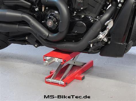 Motorrad Berwintern Auf Montagest Nder by Motorradheber Scherenheber Werkstatt Werkzeug Bike