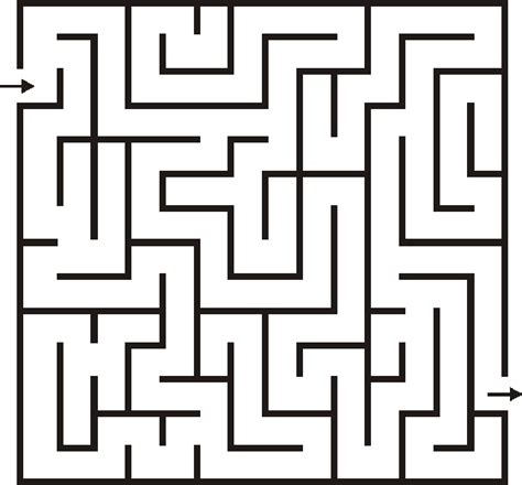 6 best images of big printable mazes free printable search results for maze for kids calendar 2015